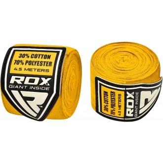 RDX Elasztikus Boksz bandázs 4.5m - Sárga