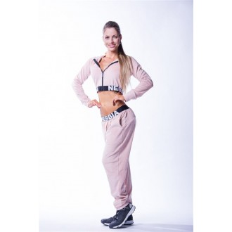 NEBBIA Velvet női melegítő felső 636