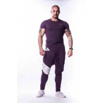 NEBBIA AW Muscle Back trikó 728 - Burgundi