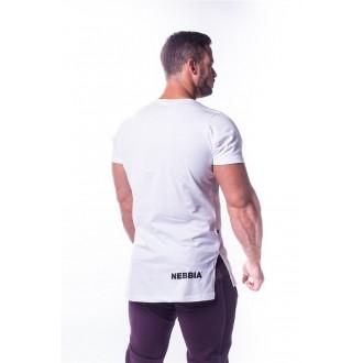 NEBBIA AW Atheltic logo trikó 730 - Fehér