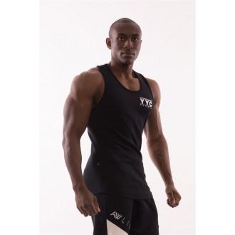 NEBBIA AW Gym ujjatlan trikó 726 - Fekete