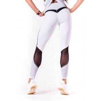 NEBBIA V-Butt női leggings 605 - Fehér