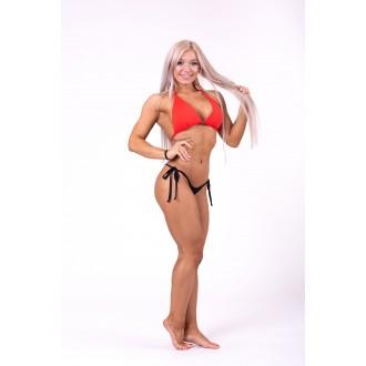 NEBBIA Triangle bikini top 631 felső rész - Piros