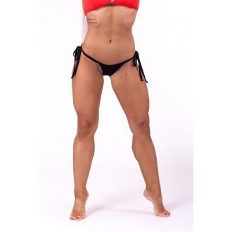 NEBBIA Scrunch butt fűzős bikini alsó rész 673 - Fekete