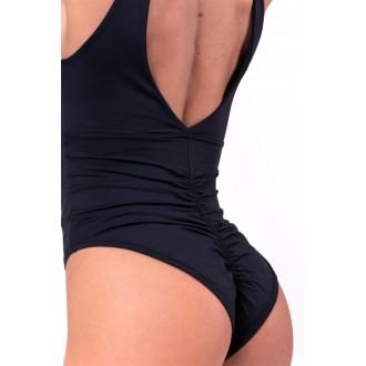 NEBBIA Egyrészes fürdőruha rafinált kivágással 675 - Fekete