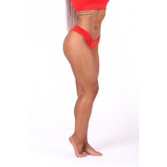 NEBBIA Brasil scrunch butt bikini alsó 632 - Piros