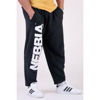Nebbia melegítő nadrág Beast Mode On 186 - Fekete