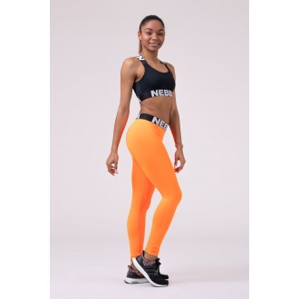 Nebbia Leggings Squad Hero Scrunch Butt 528 - neon narancssárga