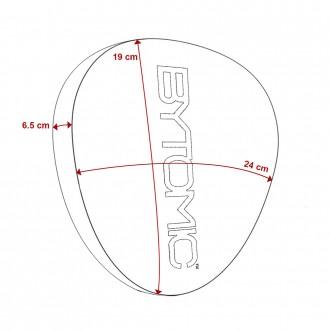 Bytomic Axis V2 Pontkesztyű - Piros
