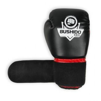 DBX BUSHIDO bokszkesztyű ARB-407 - Fekete