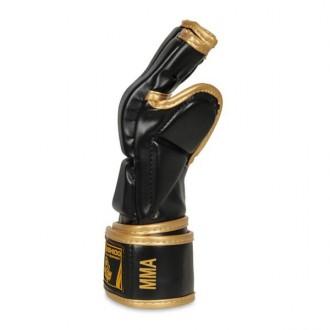 DBX BUSHIDO MMA kesztyű E1v8 - Fekete