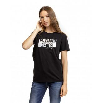 Devergo Női Póló Fekete
