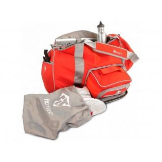 FITMARK Transporter Duffel táska edzőterembe - Piros