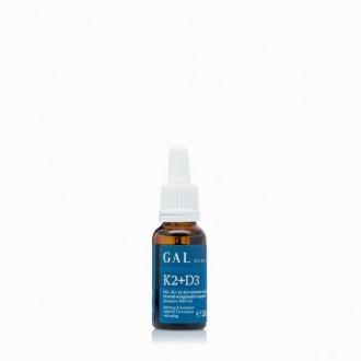 GAL K2+D3 - vitamin cseppek - 20ml