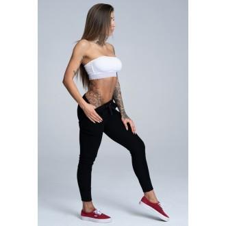 Gym Glamour Boyfriend Nadrág - Fekete