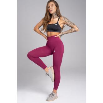 Gym Glamour Leggings Varrat nélküli Jelly Berry