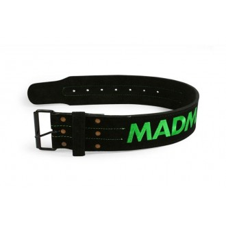 "MadMax Súlyemelő öv Suede Single Prong belt - 4"" 10 mm"