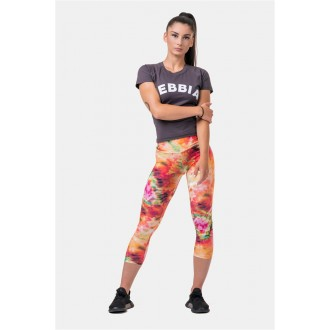 Nebbia Be Your Own Hero 7/8 leggings 574 - Rainbow