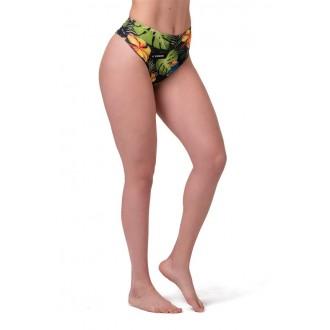 Nebbia Bikini alsó High Waist Sporty 555 - Zöld