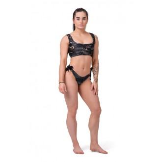 Nebbia Bikini felső Active Black 554 - Fekete