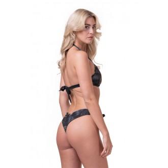 Nebbia Bikini felső Earth Powered 556 - Fekete