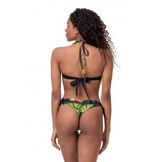 Nebbia Bikini felső Earth Powered 556 - Zöld