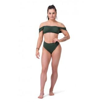Nebbia Bikini felső Miami Retro 553 - Sötétzöld