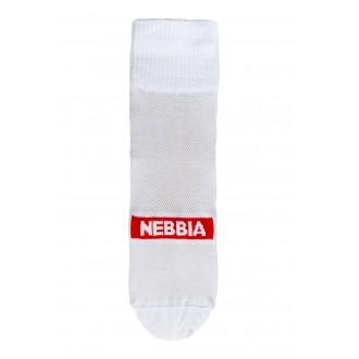 Nebbia EXTRA MILE crew zokni - Fehér