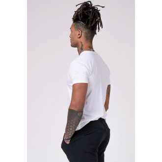 NEBBIA Férfi póló 593 - Fehér