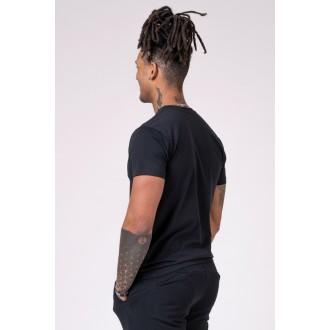 NEBBIA Férfi póló 593 - Fekete