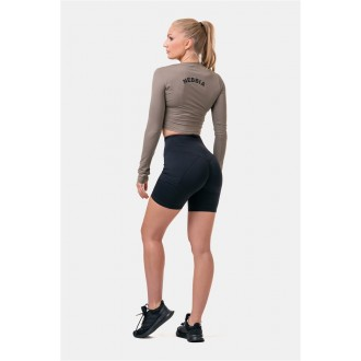 Nebbia Fit & Smart női bicikli rövidnadrág 575 - Black