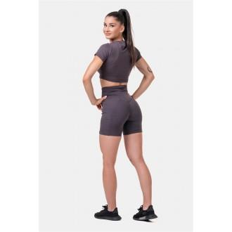 Nebbia Fit & Smart női bicikli rövidnadrág 575 - Marron