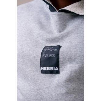 Nebbia kapucnis reg top 175 - Világos szürke