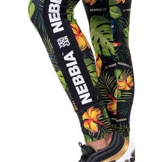 Nebbia Leggings High Waist Performance 567 - Zöld