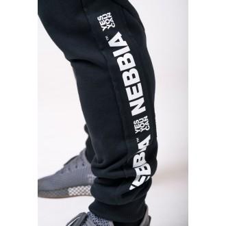 Nebbia melegítő nadrág 185 - Fekete