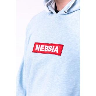 Nebbia kapucnis felső Red Label 149 Világoskék