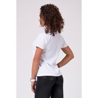 NEBBIA Női póló 592 - Fehér