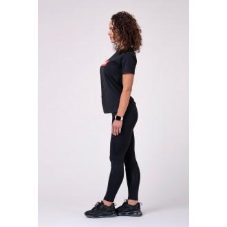 NEBBIA Női póló 592 - Fekete
