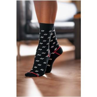 Nebbia N-PATTERN magasított zokni 104