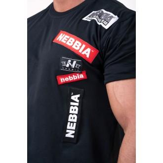 Nebbia póló Labels 171 - Fekete