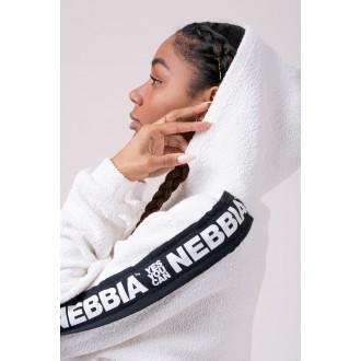 NEBBIA Rebel Hero crop felső 520 - Fehér