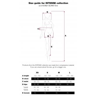 Nebbia rövidnadrág / sort Intense Gold print 828