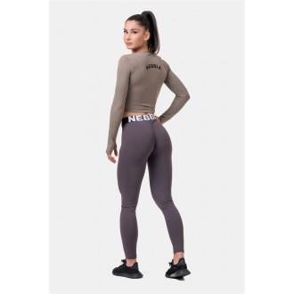 Nebbia Squat HERO Scrunch Butt leggings 571 - Marron