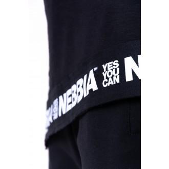 Nebbia trikó Be rebel 141 Fekete