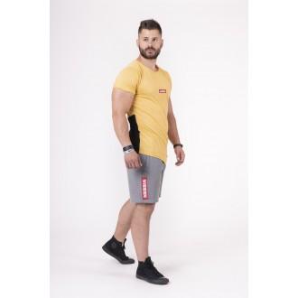 Nebbia trikó Red Label V-typical 142 - Mustár színű