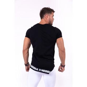 Nebbia rövid ujjú trikó Be rebel 140 - Fekete