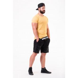 Nebbia rövid ujjú trikó Be rebel 140 - Mustár színű