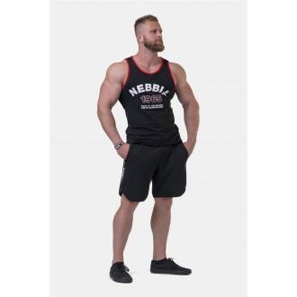 Nebbia Ujjatlan póló Old School Muscle 193 - Fekete