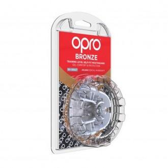 Opro Bronze Fogvédő - Fehér