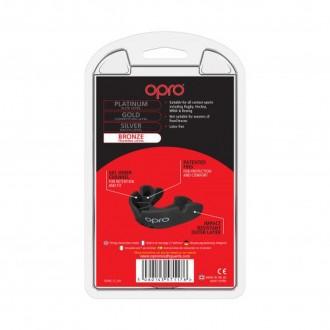 Opro Bronze fogvédő - Fekete